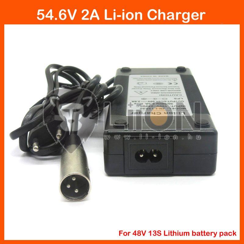 Elektromos kerékpár töltő Li-Ion 48V 2,0A XLR