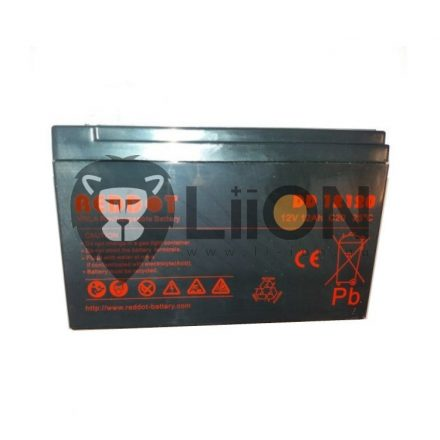 Reddot 12V 12Ah ólom zselés  akkumulátor