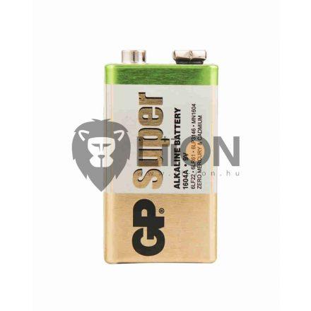 GP Super alkáli 9V elem 1604A