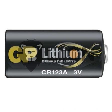 GP CR123A fotó elem