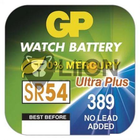 GP SR54 ezüst-oxid gombelem