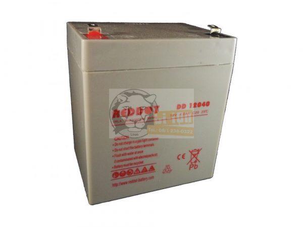Reddot 12V 4Ah ólom zselés akkumulátor