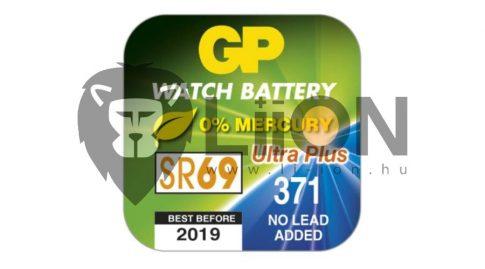 GP SR69 ezüst-oxid gombelem