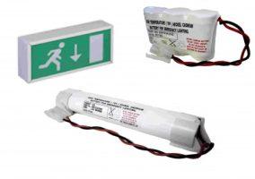 Vészvilágítás akkumulátorok