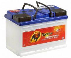 Autostarter-Batterie