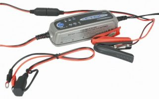 CTEK car and boat battery chargers, accessories