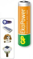 GP chargeable batteries AA, AAA, C, D, 9V