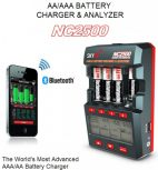 Charger AA, AAA, C, D, 9V, Lithium