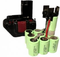 Tool batteries refill ni-mh and ni-cd