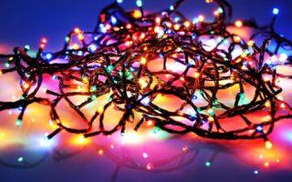 Karácsonyi fény dekorációk