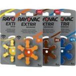 Rayovac hallókészülék elem