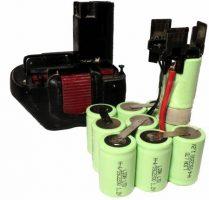 battery refill Batterienachfüllung