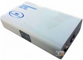 Medical equipment battery refill