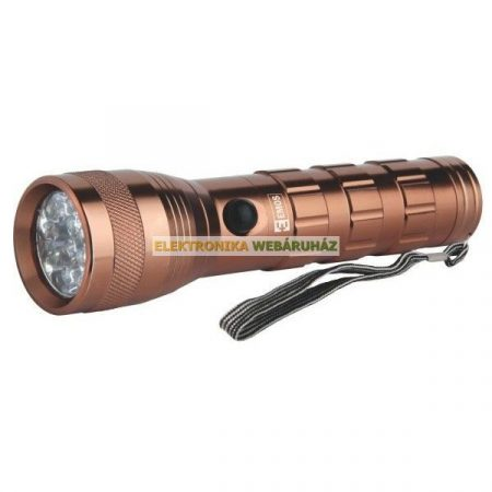 14 LED fém rúdlámpa