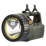 P2308  10W LED+COB LED akkumulátoros kézilámpa