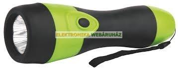 5 LED gumis rúdlámpa