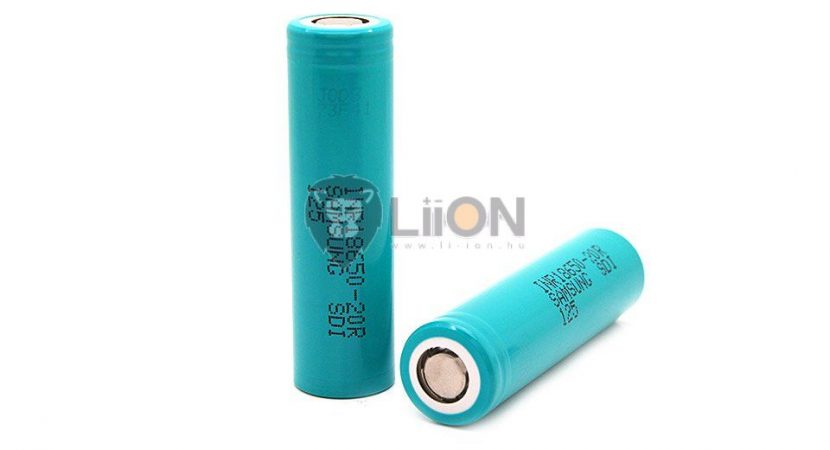 Samsung ICR 18650 3,7V 2200mAh battery cell