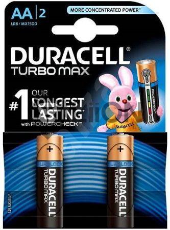 Duracell AA ceruzaelem LR6 TURBO MAX C/2