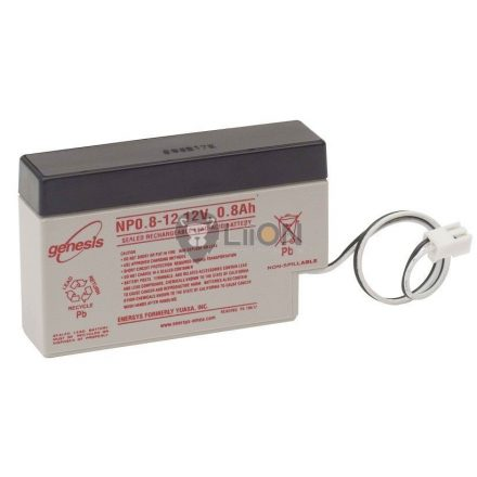 Genesis NP 12V 0,8Ah akkumulátor