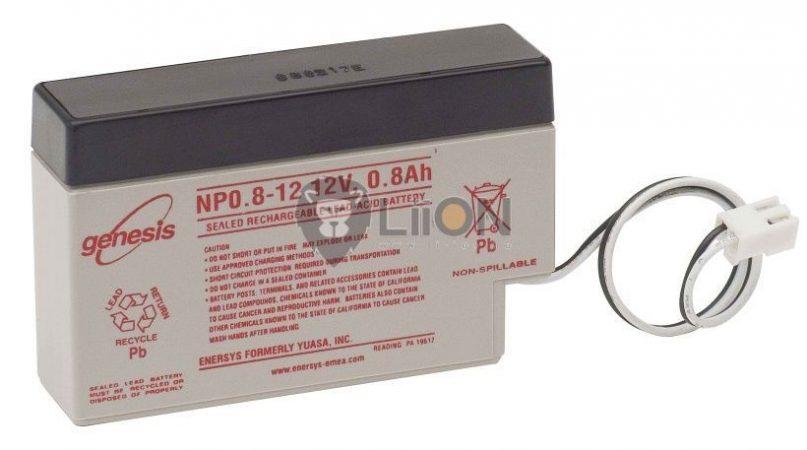 Genesis 12V Battery NP-0,8Ah