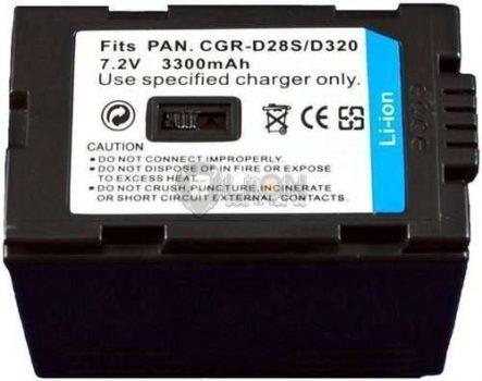 Panasonic CGR-D320 utángyártott kamera akku