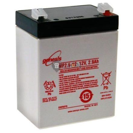Genesis NP 12V 2,9Ah akkumulátor