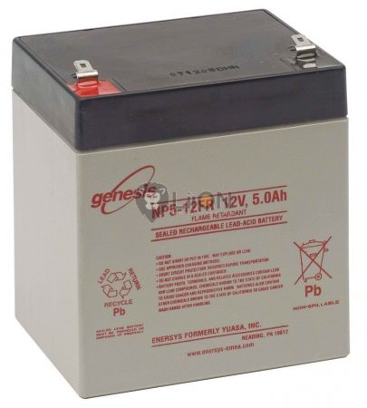 Genesis NP 12V 5Ah akkumulátor