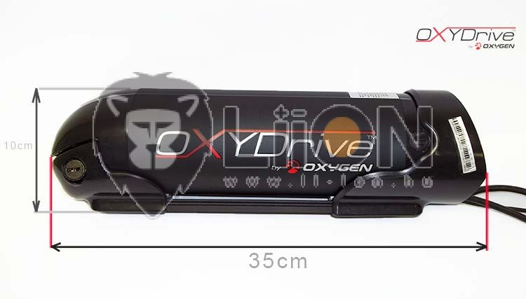 Oxydrive 36V li-ion pedelec e-bike battery renovation