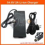 Elektromos kerékpár töltő Li-Ion 48V 2,0A RCA