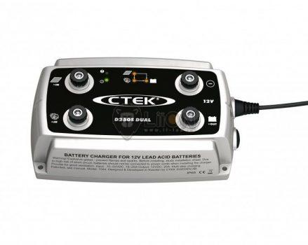 CTEK D250S Dual DC-DC töltéskiegyenlítő 25A