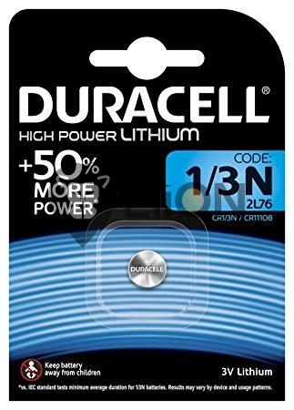 Duracell 1/3N 3V Lithium elem