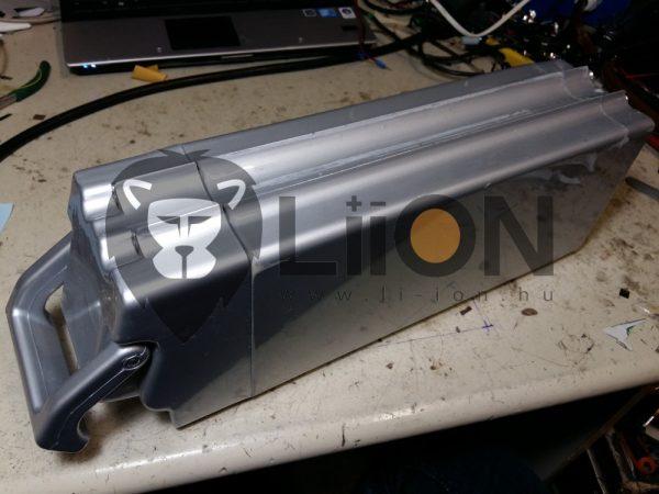 Velox 36V ólomakku li-ion átalakítás