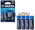 Varta Longlife Power (High Energy) AA elem