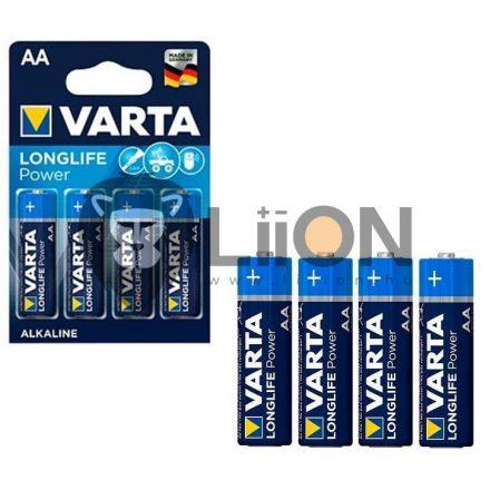 Varta Longlife Power (High Energy) AA elem