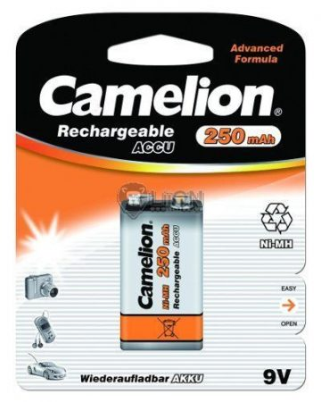 Camelion 9V 250mAh akku