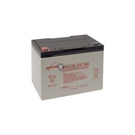 Genesis NP 12V 75Ah akkumulátor