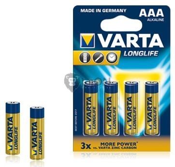 Varta Longlife AAA elem 6db-os bliszter
