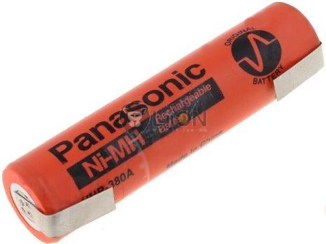 Panasonic HHR380A 4/3A akku ni-mh ajándék forrfülekkel