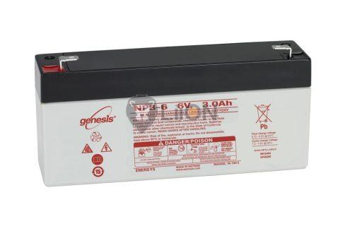 Genesis NP 6V 3Ah akkumulátor