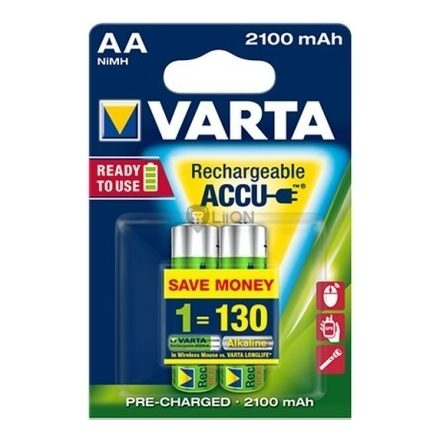 VARTA Ready 2 Use AA 2100 mAh ceruza akkumulátor 2db-os