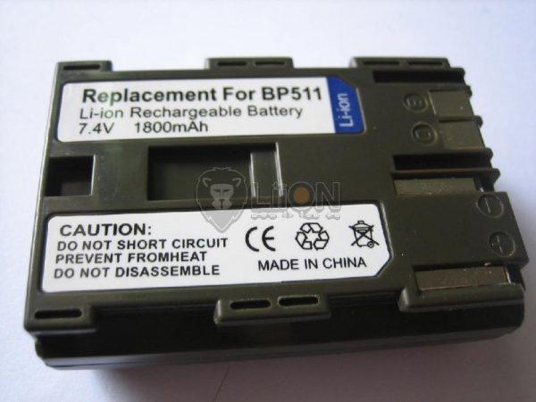 BP-511  akku  Canon kamerához