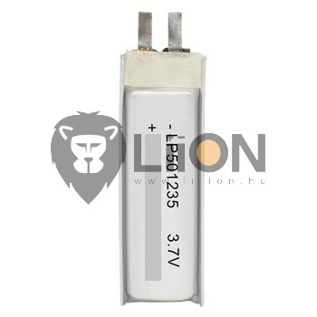 Li-polymer 051235 3,7V 150mAh battery cell