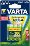 VARTA Professional fotóakku Ready 2 Use AAA 1000 mAh micro 4db-os