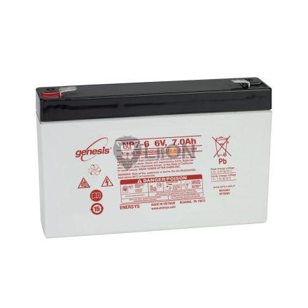 Genesis NP 6V 7Ah akkumulátor