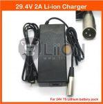 Elektromos kerékpár töltő Li-Ion 24V 2,0A XLR