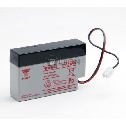 Yuasa NP0.8-12 zártsavas akkumulátor