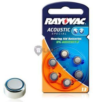 Rayovac Hearing Aid HA13 nagyothalló elem