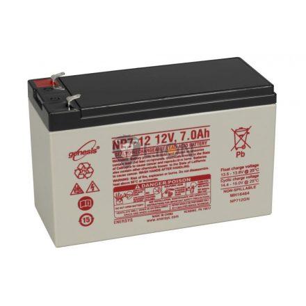 Genesis NP 12V 7Ah akkumulátor