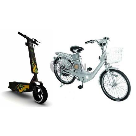 Elektromos bicikli, roller, fűnyíró akku élesztés Li-Ion , LiFePO4