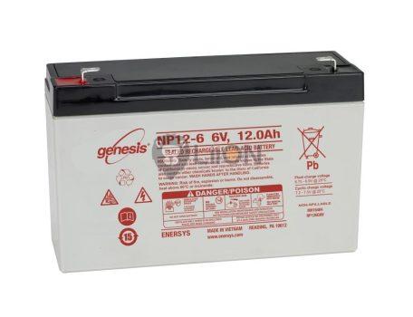 Genesis NP 6V 12Ah akkumulátor